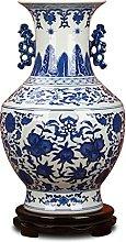 TYMBBB Porcellana dipinta a mano blu e bianco