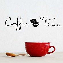 TYUV Adesivo murale Adesivo Chicco di caffè