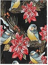 Uccelli Di Fiori Di Natale Bandiera del Giardino
