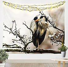 Uccello da appendere alla parete 3D animale arazzo