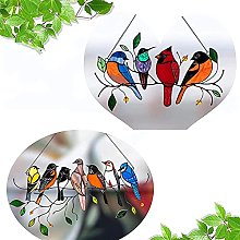 Uccello Serie Appeso Ornamento Durante Decorazione