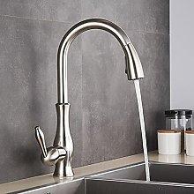 Ugello rotante lucido dorato rubinetto lavello