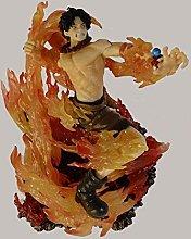 Un pezzo Anime Fire Fist Ace figura decorazione