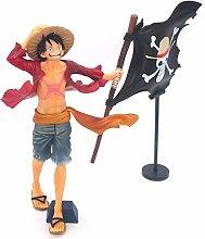 Un Pezzo Lu Fei Bandiera Anime Statua Modello