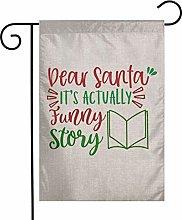 Unique Life Christmas Funny Story - Bandiera