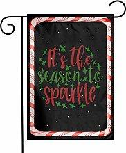 Unique Life Christmas Sparkle Season - Bandiera