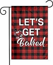 Unique Life Let's Get Baked - Bandiera da