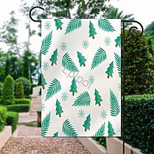 Unique Life Merry Christmas - Bandiera da giardino
