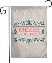 Unique Life Smerry Christmas - Bandiera bifacciale