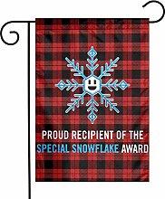Unique Life Special Snowflake Award - Bandiera