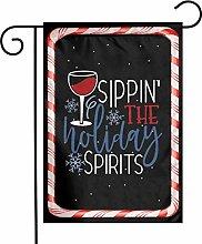 Unique Life The Holiday Spirits - Bandiera da