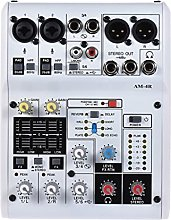 UOEIDOSB Console di miscelazione Audio Mixer