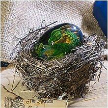 Uovo di drago Scultura Ricordo Uovo di dinosauro
