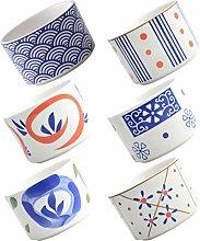 UPKOCH 6 Pezzi Vaso di Fiori in Ceramica Vaso da