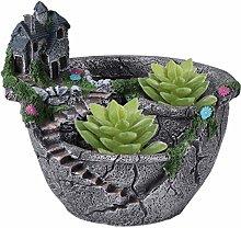 UPKOCH Vaso per piante creative in miniatura, per