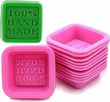 Uteruik - Confezione da 10 stampi per sapone, 100%
