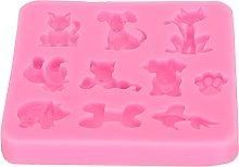 Uxsiya Stampo in silicone morbido per fai da te