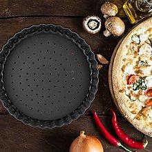 Uxsiya Teglia da forno antiaderente per pizza a