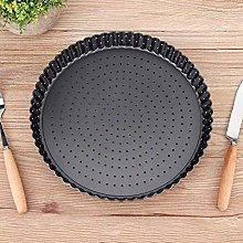 Uxsiya - Teglia per pizza in acciaio al carbonio