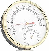 Uxsiya Termometro per Sauna, quadrante in Metallo