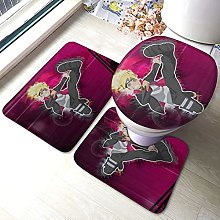 Uzumaki Boruto - Set di 3 tappetini da bagno