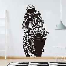 Valentino Rossi Adesivo Murale Vr The Doctor Motor
