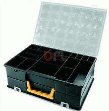 Valigetta cassetta 18 scomparti porta minuteria
