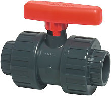Valvola a sfera Safe 600 PVC-U dimensione nominale