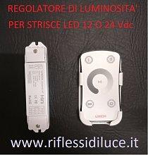 Variatore di luce con telecomando per strisce led