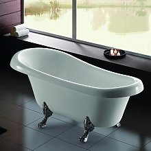 Vasca da bagno freestanding stile classico 165x75