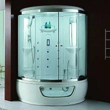 Vasca idromassaggio con box doccia 130x130cm