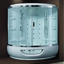 Vasca idromassaggio con box doccia 150x150cm