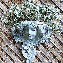 Vasi di Fiori Parete Statue Da Giardino,Ragazza