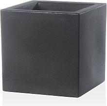 Vaso 58x58x58cm In Resina Schio Cubo Essential 60
