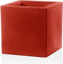 Vaso Cubo Schio Essential in resina da giardino