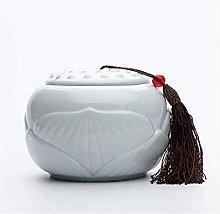 Vaso da tè grande in ceramica cinese sigillato
