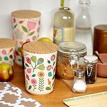 Vaso decorativo o scatola portaoggetti in bambù