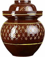 Vaso di decapaggio in porcellana, Kimchi Crock Pot