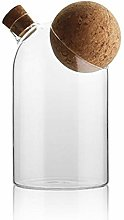 Vaso di vetro con chiusura ermetica Coperchio in