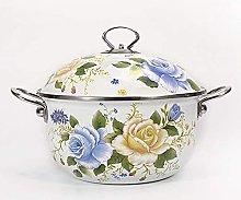 Vaso di zuppa di smalto di casseruola di ghisa XKun