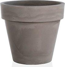 Vaso fioriera in resina STANDARD ONE Ø80 -