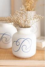 Vaso in ceramica Elof Bianco Sklum