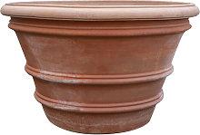 Vaso in Terracotta 100% Made in Italy Lavorata a