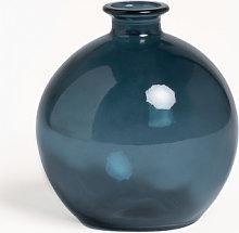 Vaso in vetro riciclato Kimma Blu Pacífico Sklum