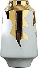 Vaso leggero di lusso in ceramica decorazione vaso