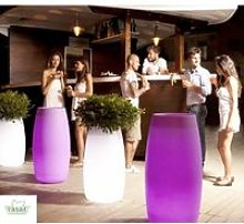 Vaso Luminoso mod. Bubble alto 75- Linea Vasar by