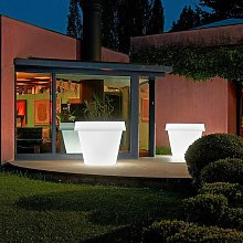 Vaso luminoso per piante design Big Gio Light