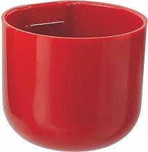 Vaso Magnetico MAGNETIKA Mini Rosso 5CM Giardino