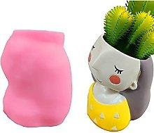 Vaso per piante da tavolo Stampo in silicone fai