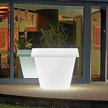 Vaso per piante grande luminoso design Gio Tondo